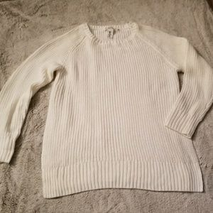 H&M Cable sweater with slits